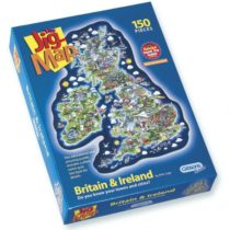Gibsons Jigmap-Britain & Ireland Jigsaw Puzzle