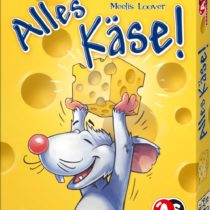 Abacus 08131–Alles Käse, Card Game