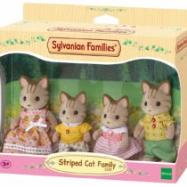 Sylvanian Families – Striped Cat Family