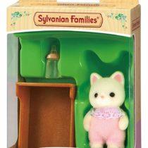 Sylvanian Families 5066 Silk Cat Baby, Multicolor