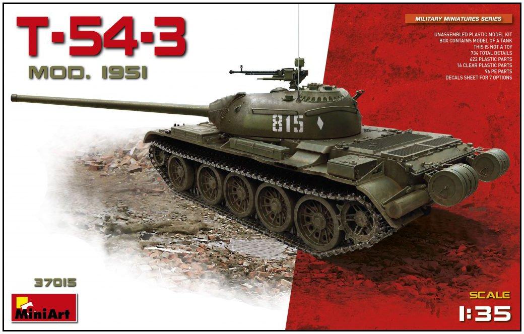 """'Mini 37015Model Kit 54–3Model 1951"""""""