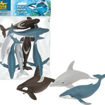 Wild Republic 83783 Aquatic Figurines Seven Piece Collection Polybag, Gifts for Kids, Multi