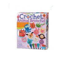 4M 404669 Crochet Animal Brooch