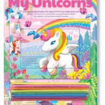 4M 404749 Unicorn Glitter Sand Art Unit, Multi Colour
