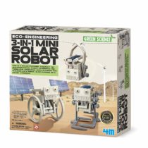 4M 3-in-1 Eco Engineering Mini Solar Robot Toy