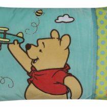 Joy Toy 15231 42 x 28 cm Blue Winnie The Pooh Embroidered Plush Cushion