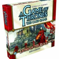 A Game of Thrones the Card Game Expansion Lions of the Rock (Living Card Game)