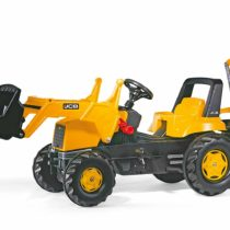 Rolly JCB Tractor with Frontloader and Rear Excavator
