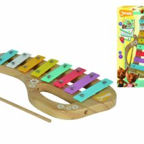 Eichhorn Jonalu 109375305 Wooden Xylophone 3 Pieces Scale with 8 Notes Including Songbook 30 x 15.5 cm From 2 Years