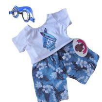 Build Your Bears Wardrobe 5060322140384 Teddy Bear Clothes, Blue