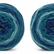 BERNAT Blanket Stripes-Pack of 2 Balls-300g Each Ball, Stormy Sky, 600g