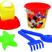ADRIATIC 820 Trolley with Mickey Mouse Bucket Set, Multi-Color