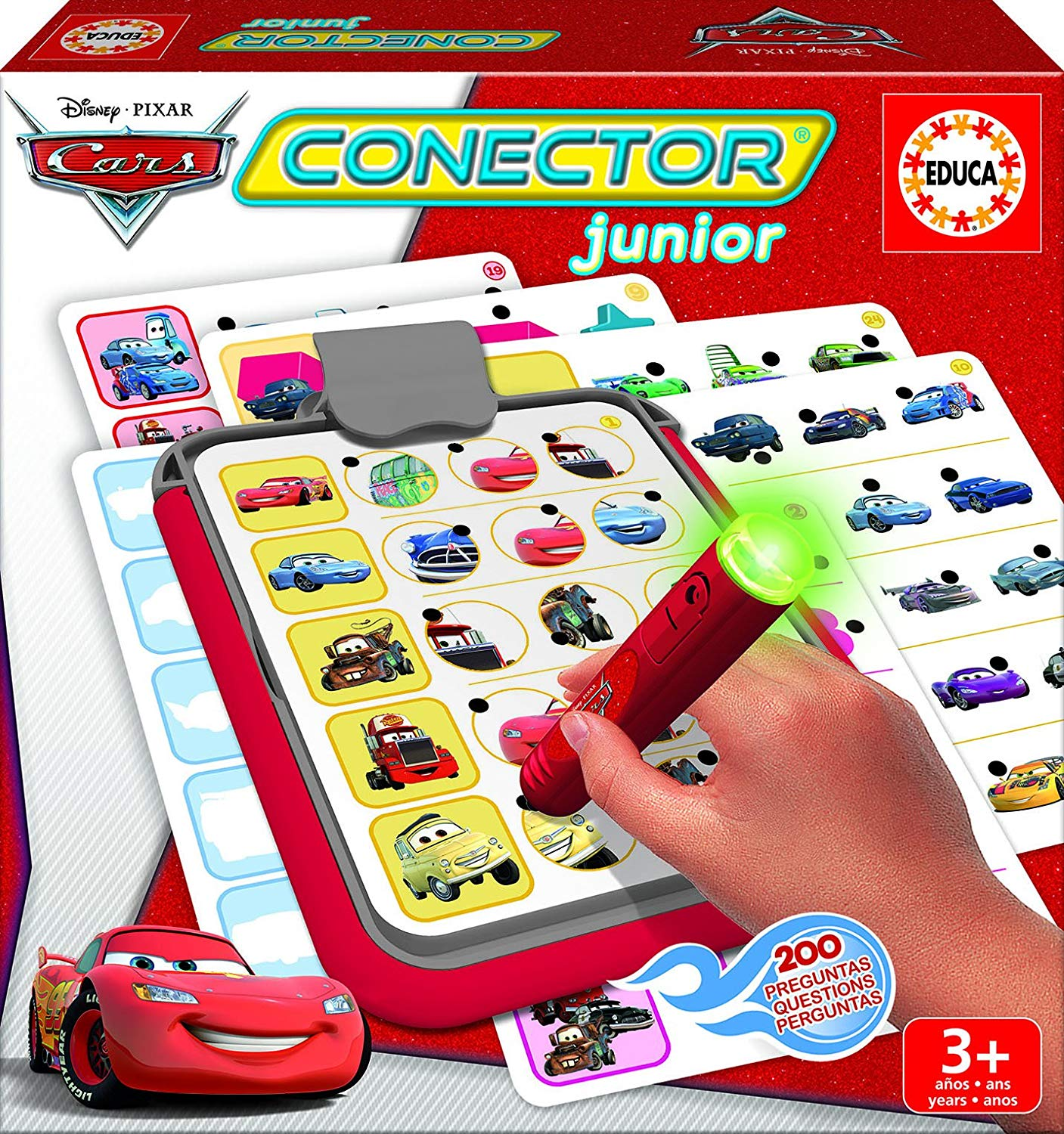 Disney Educa Borras Cars Junior Connector Game