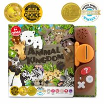 BEST LEARNING Book Reader Animal Kingdom – Educational Talking Sound Toy to Learn About Animals with Quiz Games for Kids Ages 3 to 8 Years Old