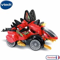 VTech- S&G-BRAXOR, The Mega Stegosaurus RC Switch & Go Dinos Car/Dinosaur, 80-197905, Multi-Coloured
