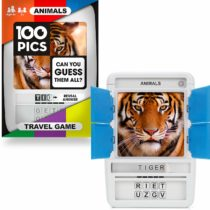 100 PICS Animals Game – Travel Flash Card Games for Smart Kids