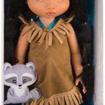 "Disney Princess Animators' Collection Toddler Doll 16"" H – Pocahontas with Plush Friend Meeko by Disney"