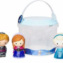 Disney Frozen Deluxe Bath Toys 5 Piece Set Tub Toy Playset Anna Elsa Olaf Sven