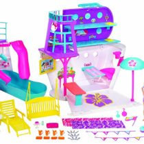 Barbie Cruise Ship Playset with 3 Dolls and 28 Accessories