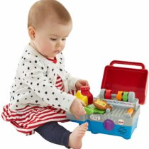 Fisher Price Toys Laugh and Learn Smart Stages BBQ Grill | Includes Smart Stages™ technology – learning content changes as baby grows