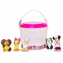 Disney Official Store Minnie Mouse Deluxe Bath Toy 5 Piece Set Tub Toy Playset