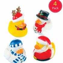 Baker Ross X275 Christmas Ducks, Assorted,Pack of 4