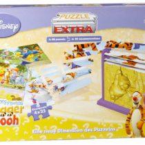 Disney Jumbo Spiele 12489Puzzle Extra Winnie the Pooh