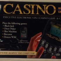 Casino Electronic Game & Calculator by Excalibur