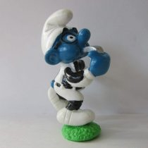 20191 – Brainy Referee Sporting Smurf from the Smurfs by Peyo Schleich Vintage item Referee for football, rugby or other sports