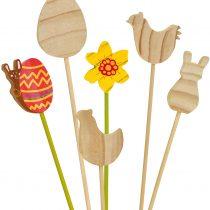 "EDUPLAY 210115 Flower Plug 12Er Set"" Easter, Multi Colour"