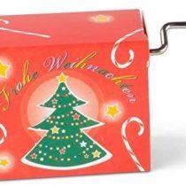 "'Mini Barrel Organ Oh Christmas Tree """
