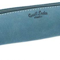 'Pencil Case Gusti Leder Studio Peter Pencil Case Pencil Case Pencil Case Pencil Case Uni Office Vintage Turquoise 2S1–22–12