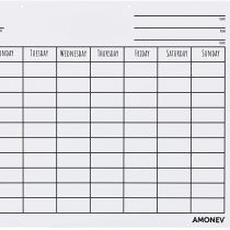 Amonev Chore Chart Reward Chart is a dry erase chart that rewards up to 3 children 30x40cm Chore Chart comes with 4 dry erase pens and a hanging loop