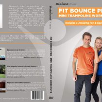 Fit Bounce Pro Mini Trampoline Exercise DVD   Includes 3 Fantastic Reounder Workouts for Fitness & Weight Loss