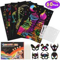 Tesoky Scratch Art Set for Kids – Best Gifts