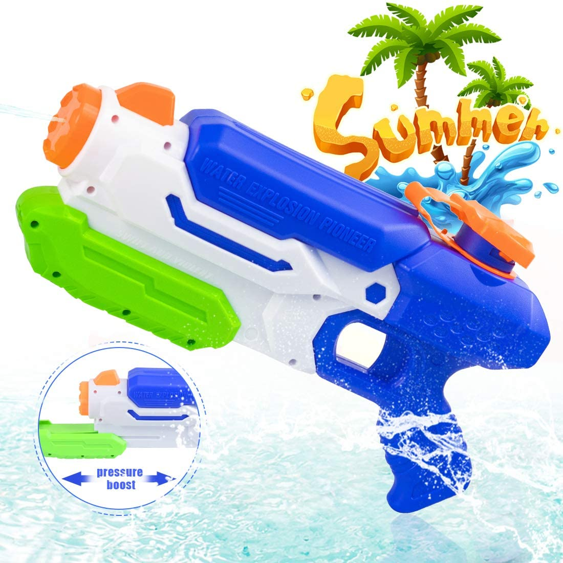 O-Kinee Water Gun Toy for Kids Super Water Pistols Adults ...