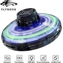3T6B Flynova Flying Drone Toy, Mini Flying Toy, Hand Control Drones for Kids Adults,Finger Remote Control Mini UFO Drones for kids with 360°Rotating & RGB LED Lights Interactive Toys for Boys Girls