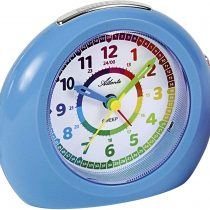 1967-5 Children's Alarm Clock Without Ticking Analogue Blue