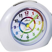1967-0 Children's Alarm Clock Without Ticking Analogue White