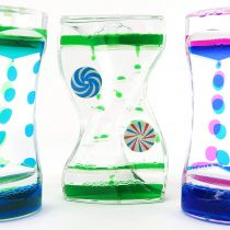 Edz Kidz SENSOREEZ 3 Pack of Liquid Timers. Ideal for sensory play and for calming & distracting Children