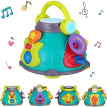 Baby Activity Musical Educational Toy – EARSOON Musical Activity Cube Play Center Baby Toy for Infants, Toddler Interactive Learning Development Gifts For Boys and Girls Toddlers