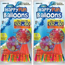 264 Pack Water Balloons Self Sealing Easy & Fast Filling Water Bombs Summer Splash Fun Water Fight Game for Kid & Adult (264 Pack 2 Bags)