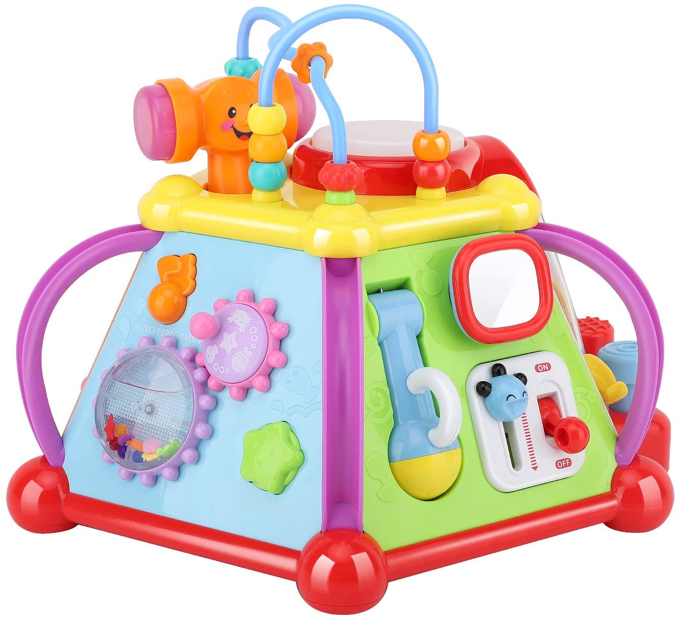 Zooawa Musical Activity Cube Play Center, Multiple ...