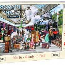 1000 Piece Jigsaw Puzzle – Find the Differences No.16 – Ready To Roll
