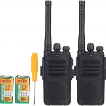 2pcs Walkie Talkies 2 Way Radio Kids Toys Wireless Long Distance Range Walkie Talkie for Field Survival Biking and Hiking