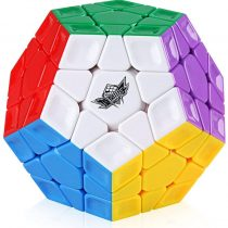 Coogam Cyclone Boys 3×3 Megaminx Stickerless Speed Cube 12 Sided Megamix Dodecahedron Magic Cube Puzzle Toy