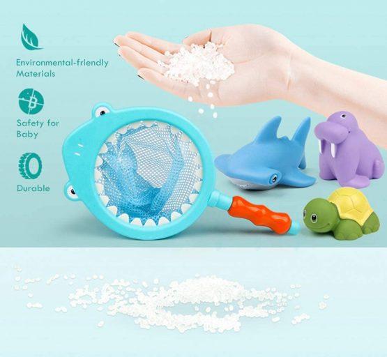 Lehoo Castle Bath Toys for 2 Year Old, 8pcs Baby Bath Toys ...