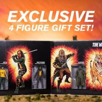 (SDCC 2017) SKYBOUND:WALKING DEAD SHIVA FORCE ACTION FIGURE SET