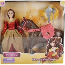�Fairytale Princess 11″ Belle Doll With Royal Horse Toy & Accessories