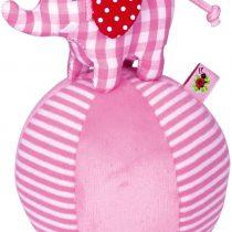 Die Spiegelburg Elephant Tumbler with Bell Pink Serie BabyGlück